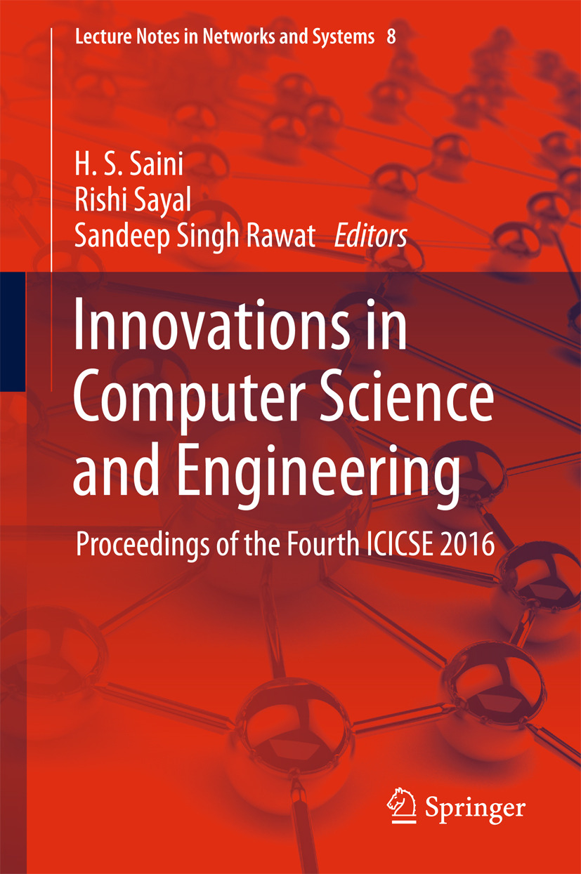 Rawat, Sandeep Singh - Innovations in Computer Science and Engineering, ebook