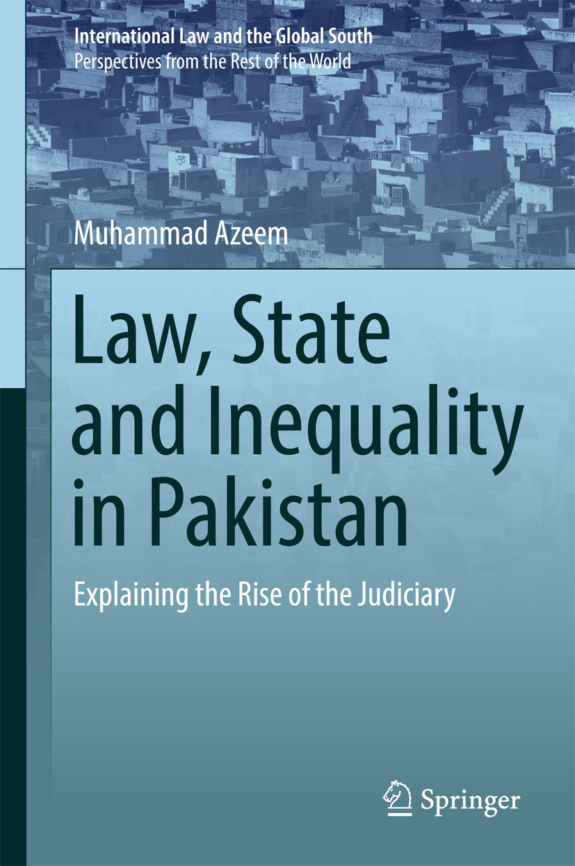Azeem, Muhammad - Law, State and Inequality in Pakistan, e-bok