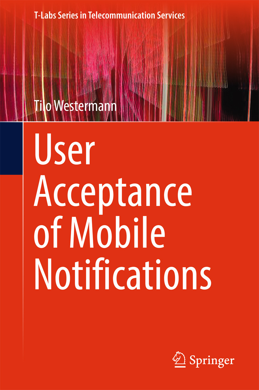 Westermann, Tilo - User Acceptance of Mobile Notifications, ebook