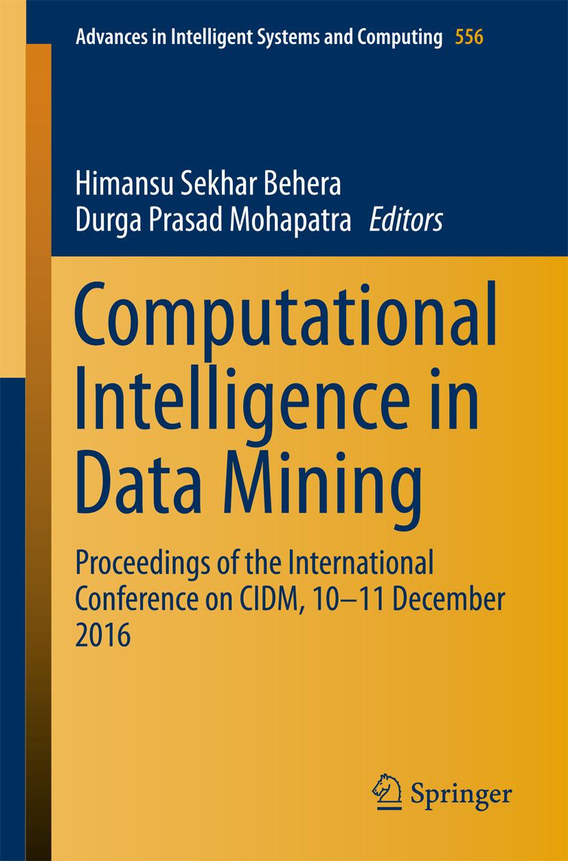 Behera, Himansu Sekhar - Computational Intelligence in Data Mining, ebook