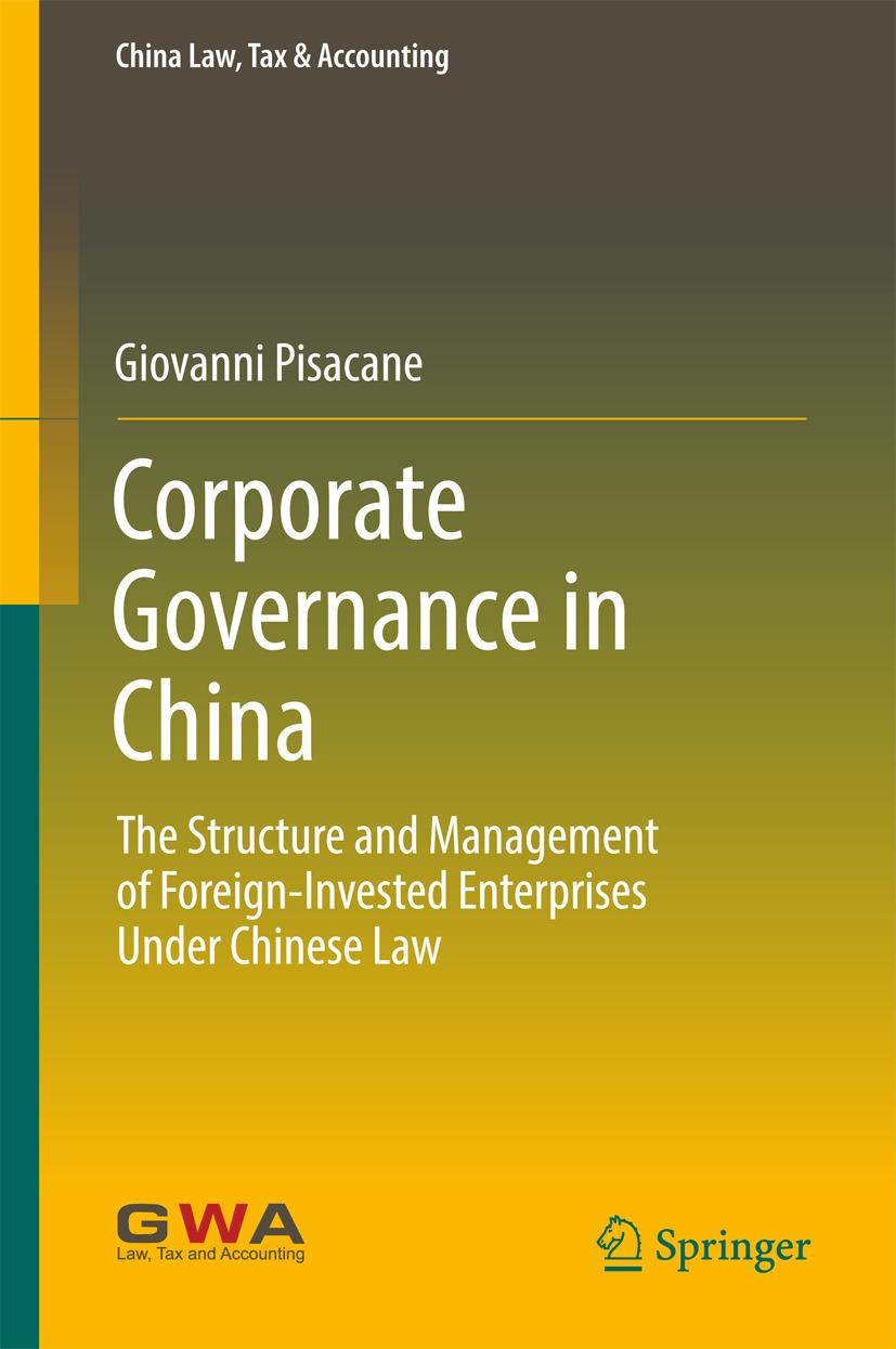 Pisacane, Giovanni - Corporate Governance in China, ebook