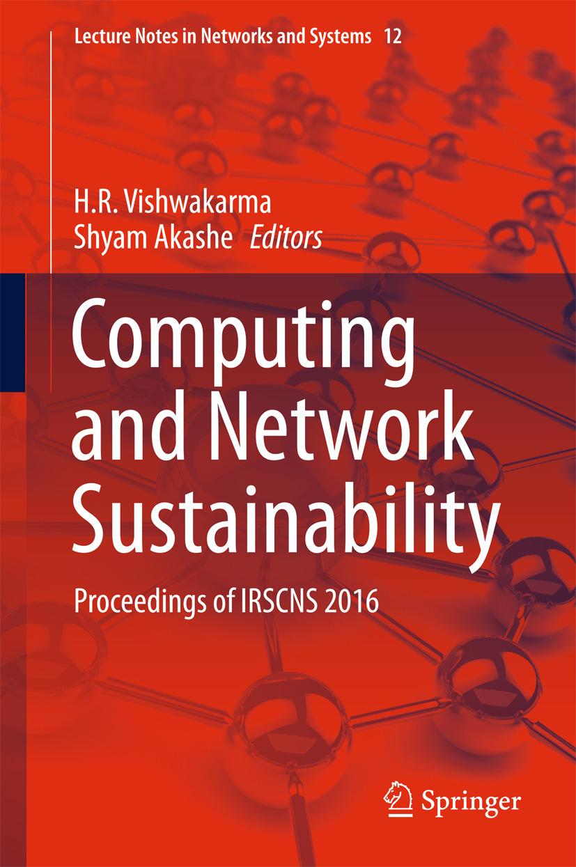 Akashe, Shyam - Computing and Network Sustainability, ebook