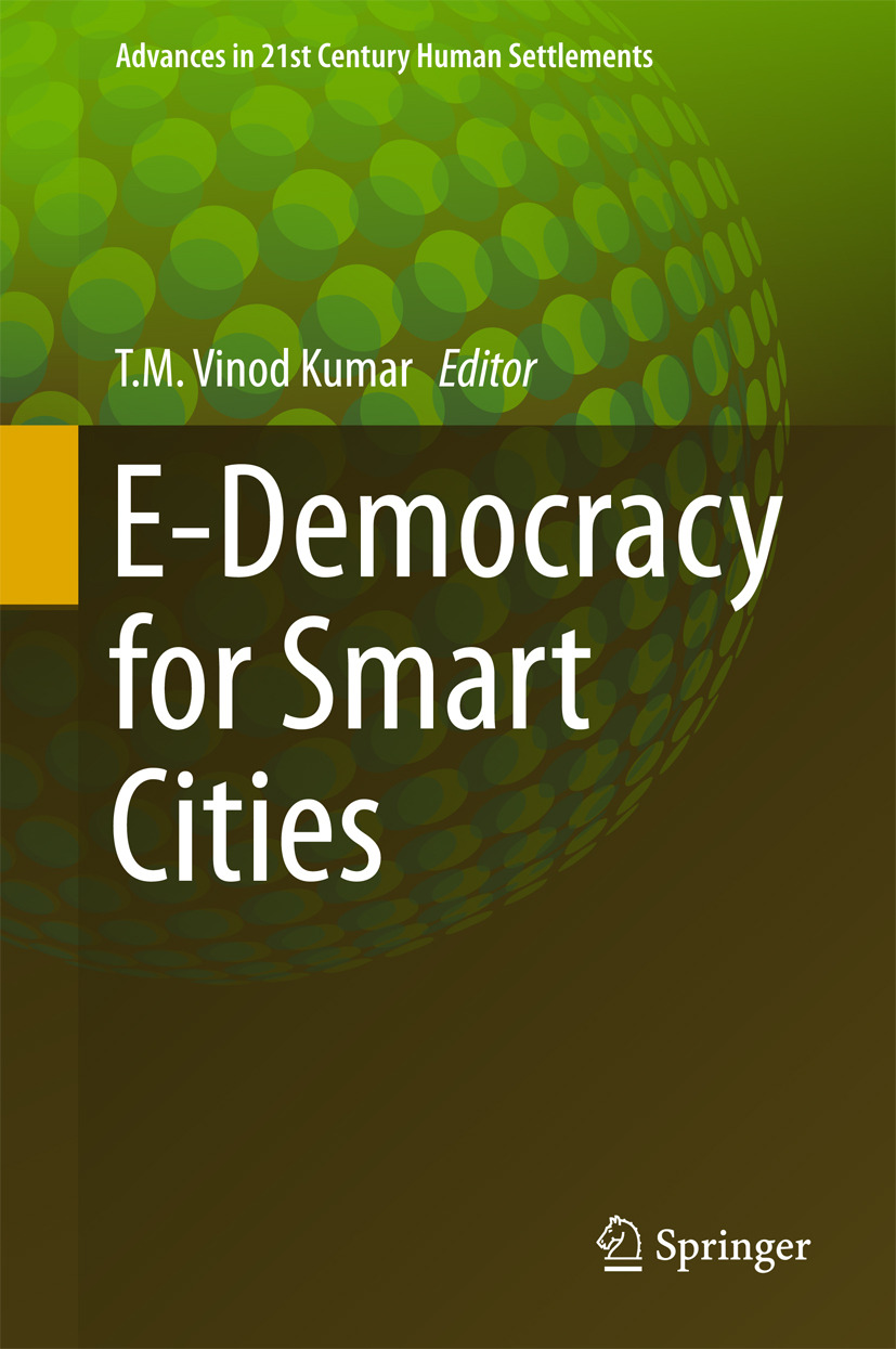 Kumar, T.M. Vinod - E-Democracy for Smart Cities, e-kirja