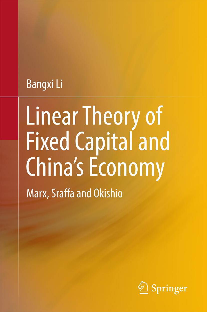 Li, Bangxi - Linear Theory of Fixed Capital and China's Economy, ebook