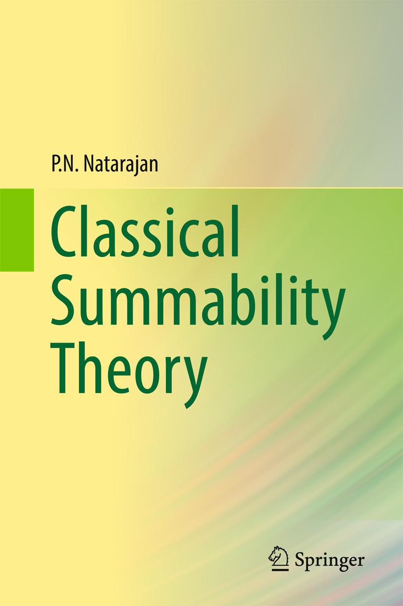 Natarajan, P.N. - Classical Summability Theory, ebook