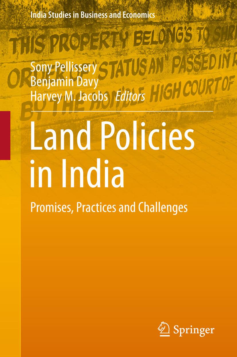 Davy, Benjamin - Land Policies in India, ebook