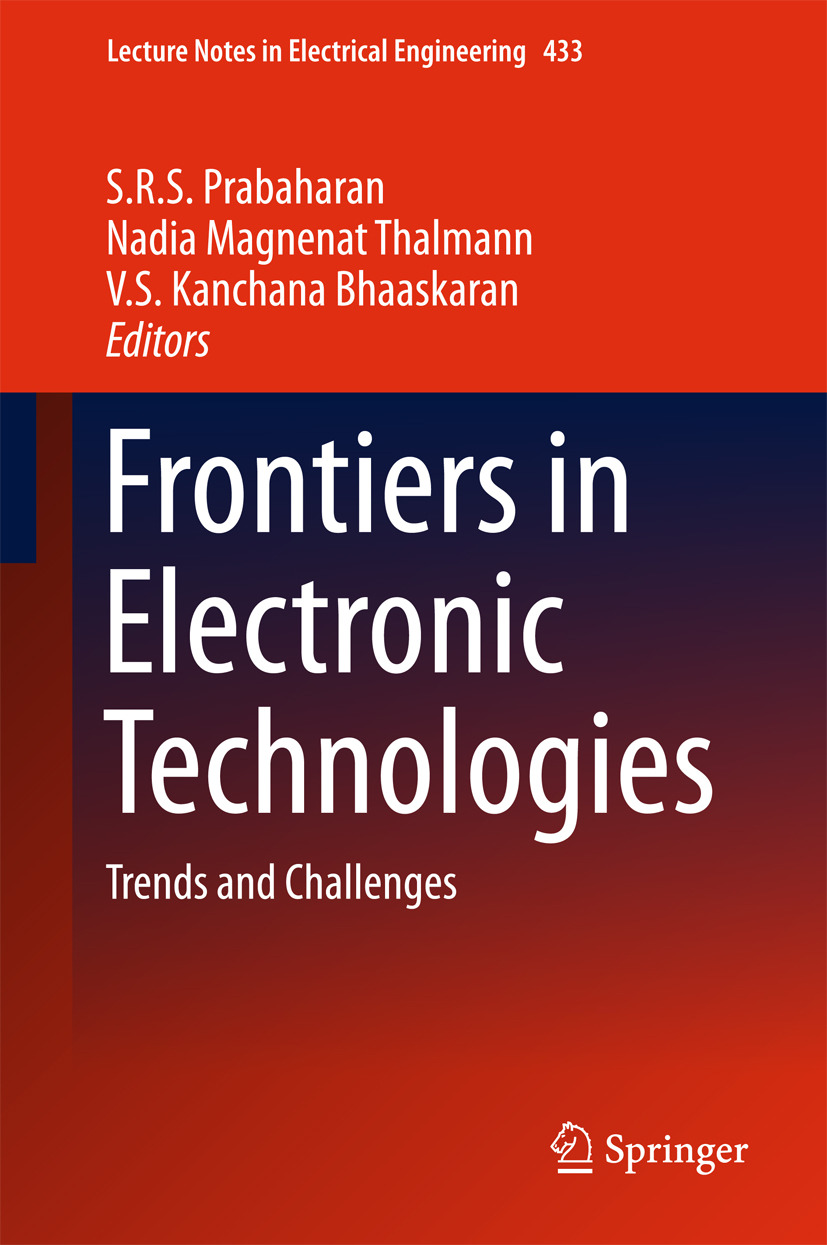 Bhaaskaran, V. S Kanchana - Frontiers in Electronic Technologies, ebook