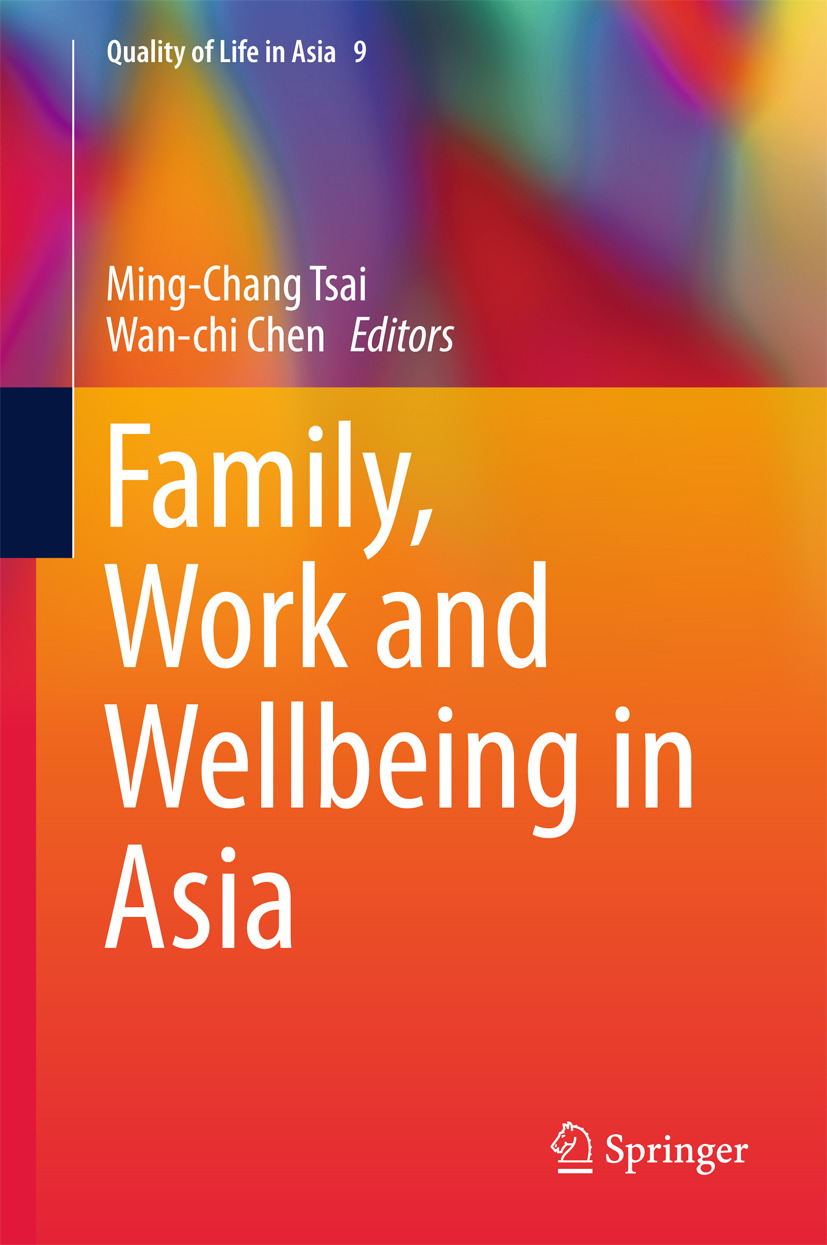Chen, Wan-chi - Family, Work and Wellbeing in Asia, e-bok