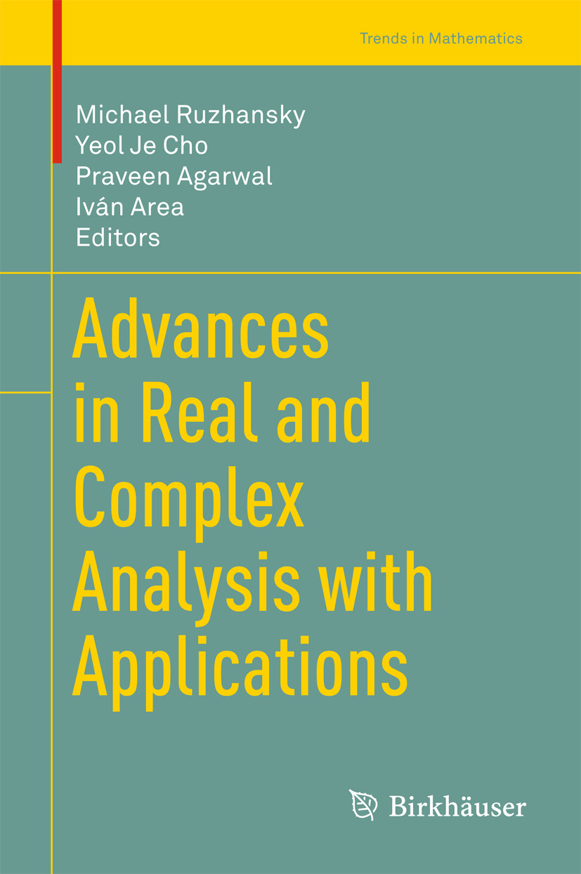Agarwal, Praveen - Advances in Real and Complex Analysis with Applications, e-kirja