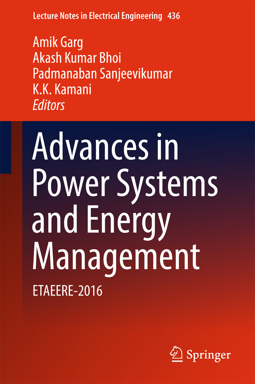 Bhoi, Akash Kumar - Advances in Power Systems and Energy Management, ebook