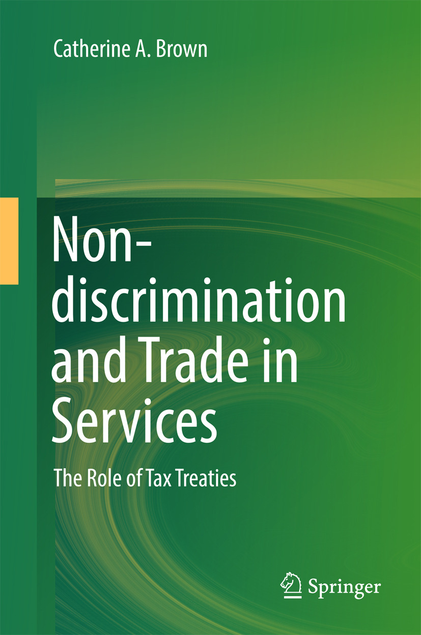 Brown, Catherine A. - Non-discrimination and Trade in Services, ebook