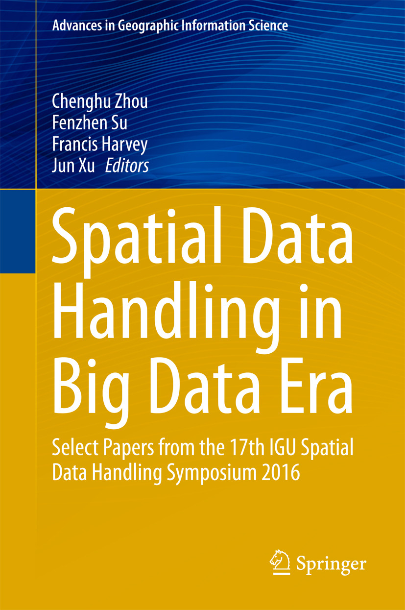 Harvey, Francis - Spatial Data Handling in Big Data Era, ebook