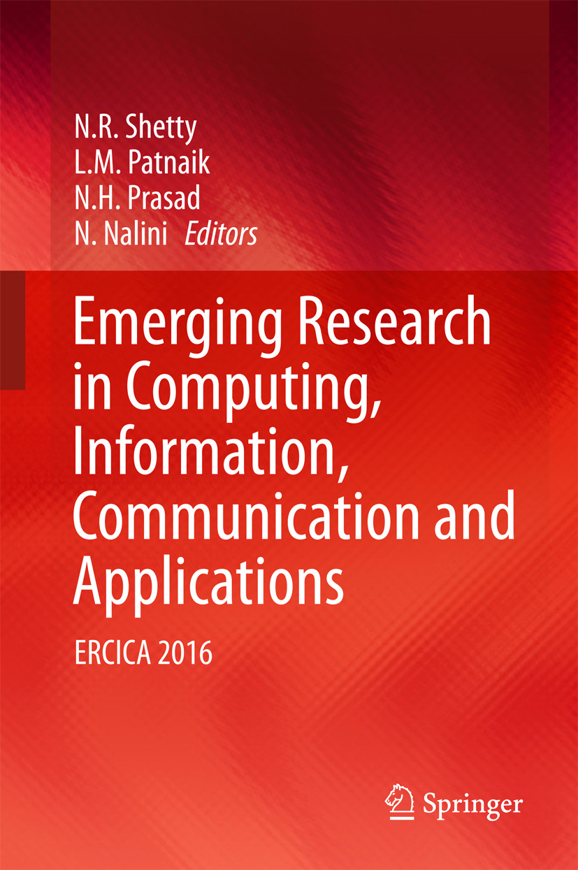 Nalini, N. - Emerging Research in Computing, Information, Communication and Applications, ebook