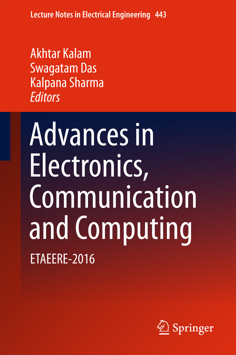Das, Swagatam - Advances in Electronics, Communication and Computing, ebook