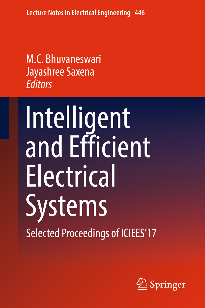Bhuvaneswari, M.C. - Intelligent and Efficient Electrical Systems, ebook