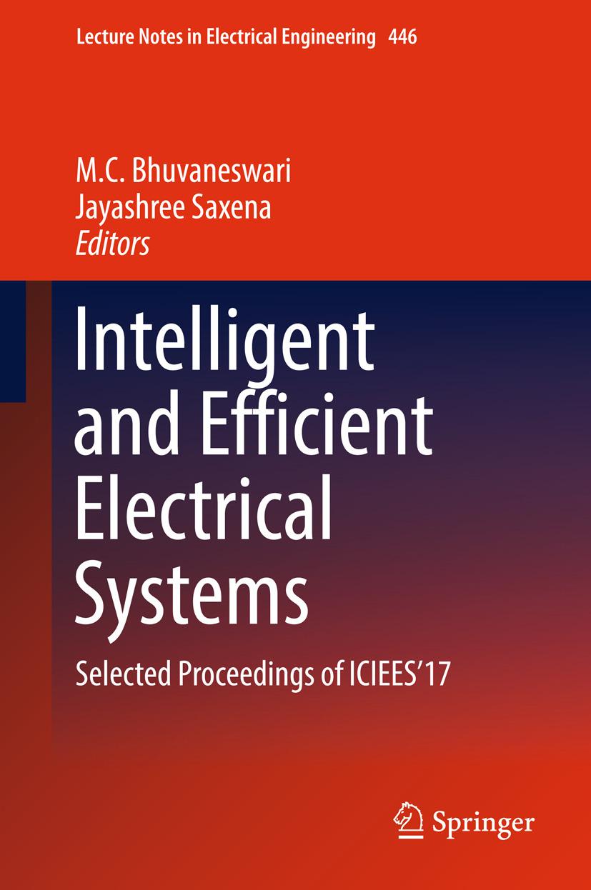 Bhuvaneswari, M.C. - Intelligent and Efficient Electrical Systems, ebook