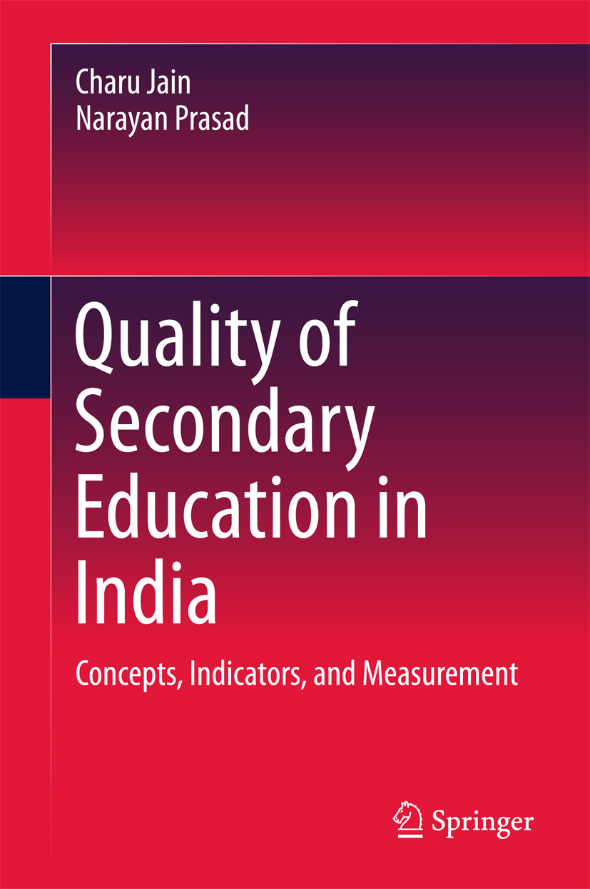 Jain, Charu - Quality of Secondary Education in India, ebook