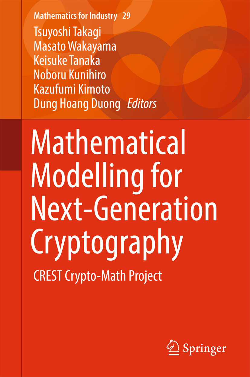 Duong, Dung Hoang - Mathematical Modelling for Next-Generation Cryptography, ebook