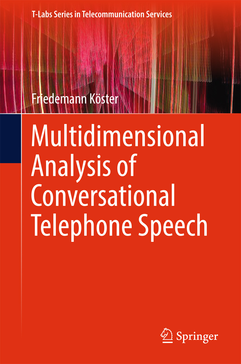 Köster, Friedemann - Multidimensional Analysis of Conversational Telephone Speech, ebook