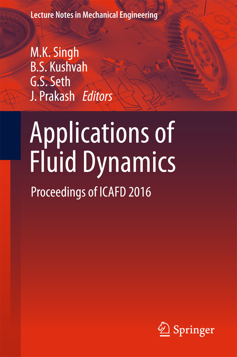 Kushvah, B.S. - Applications of Fluid Dynamics, e-bok