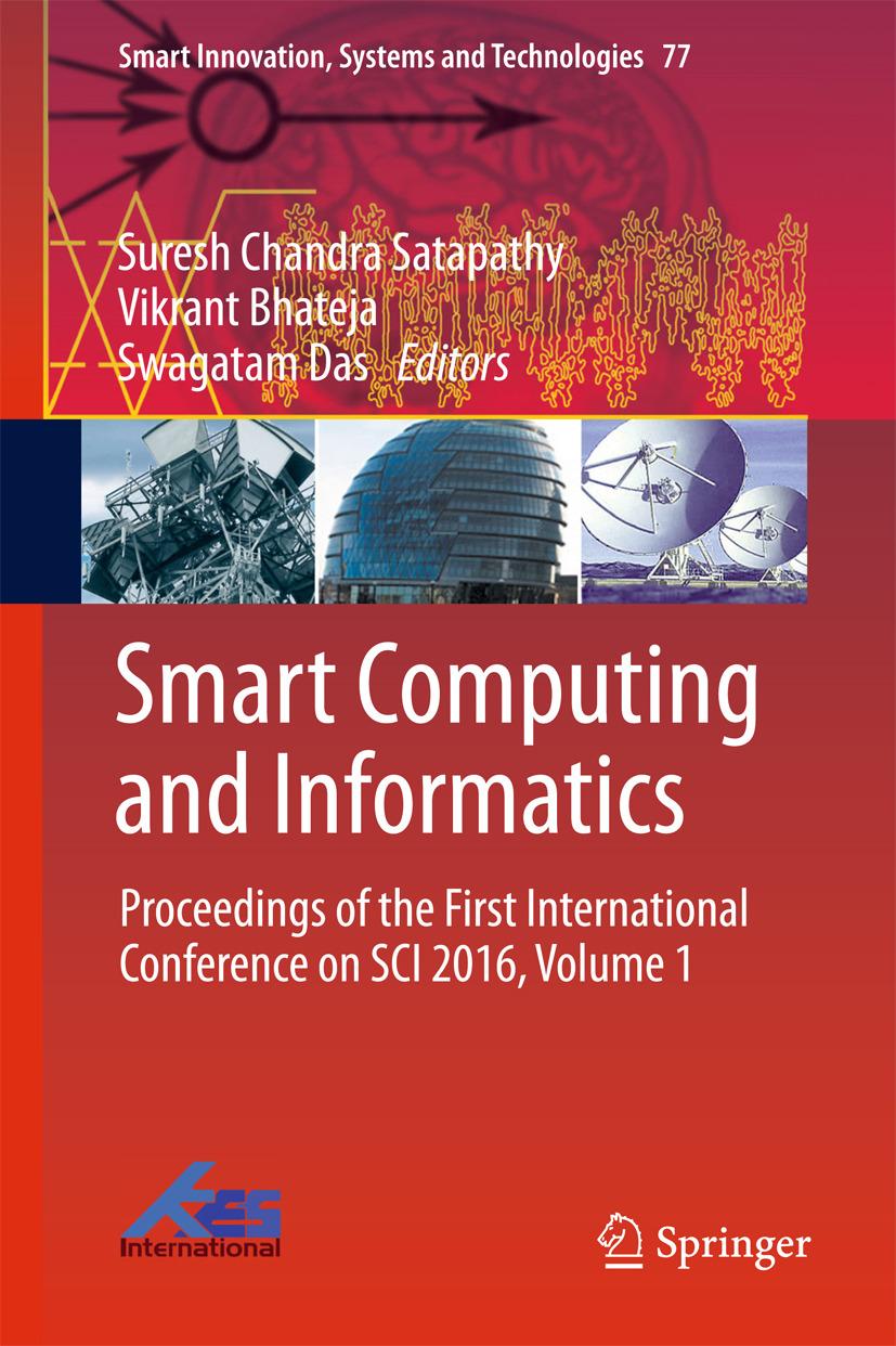 Bhateja, Vikrant - Smart Computing and Informatics, ebook
