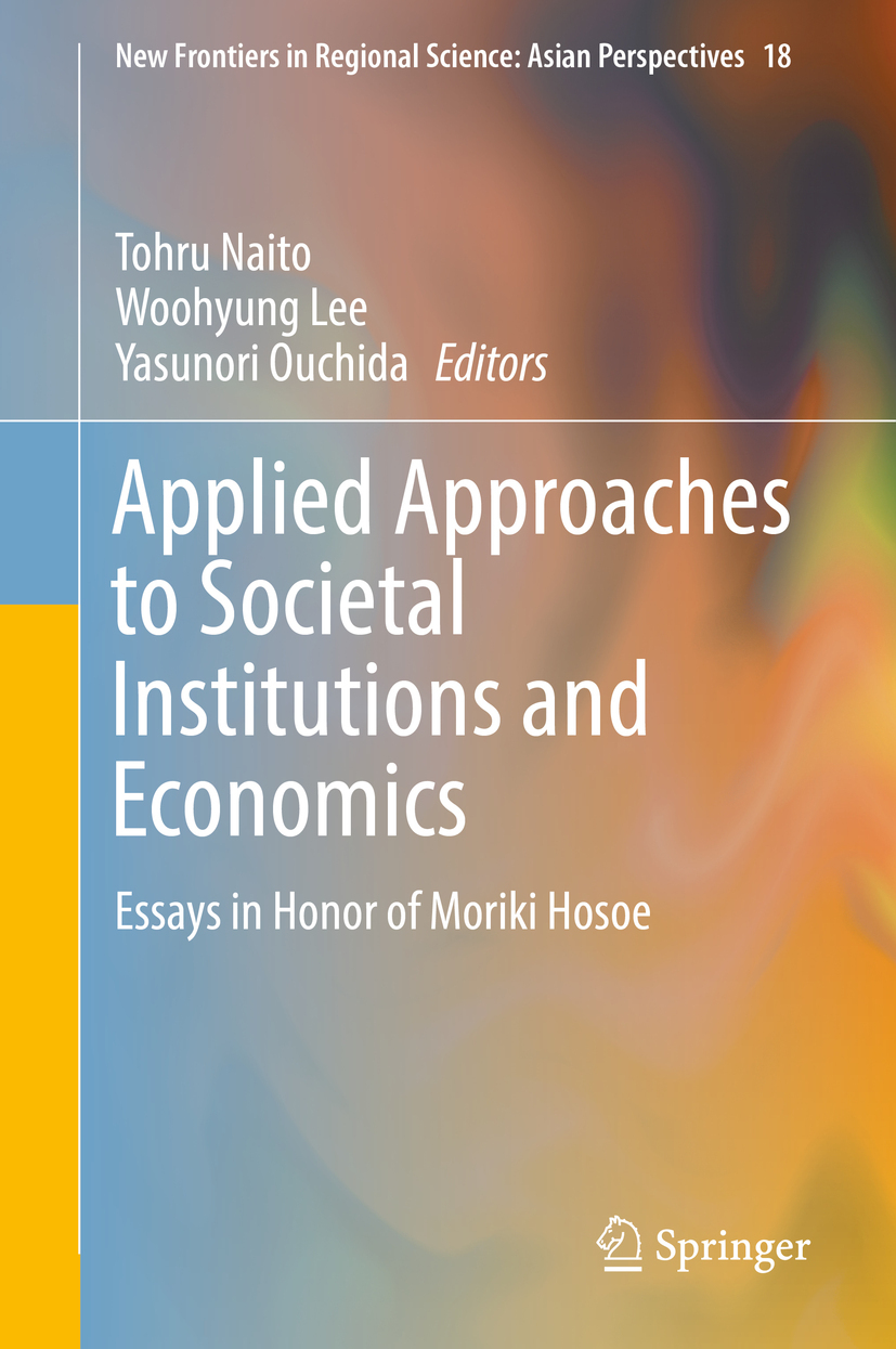 Lee, Woohyung - Applied Approaches to Societal Institutions and Economics, ebook