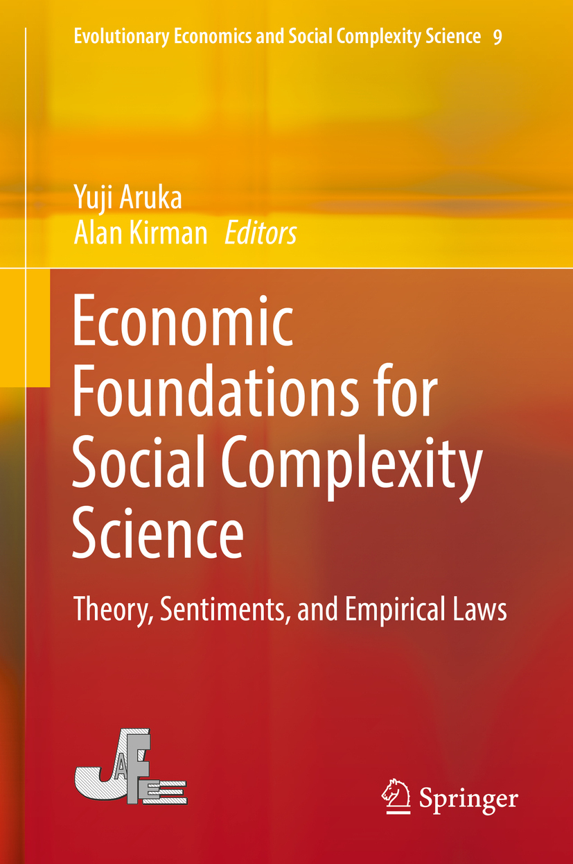 Aruka, Yuji - Economic Foundations for Social Complexity Science, ebook