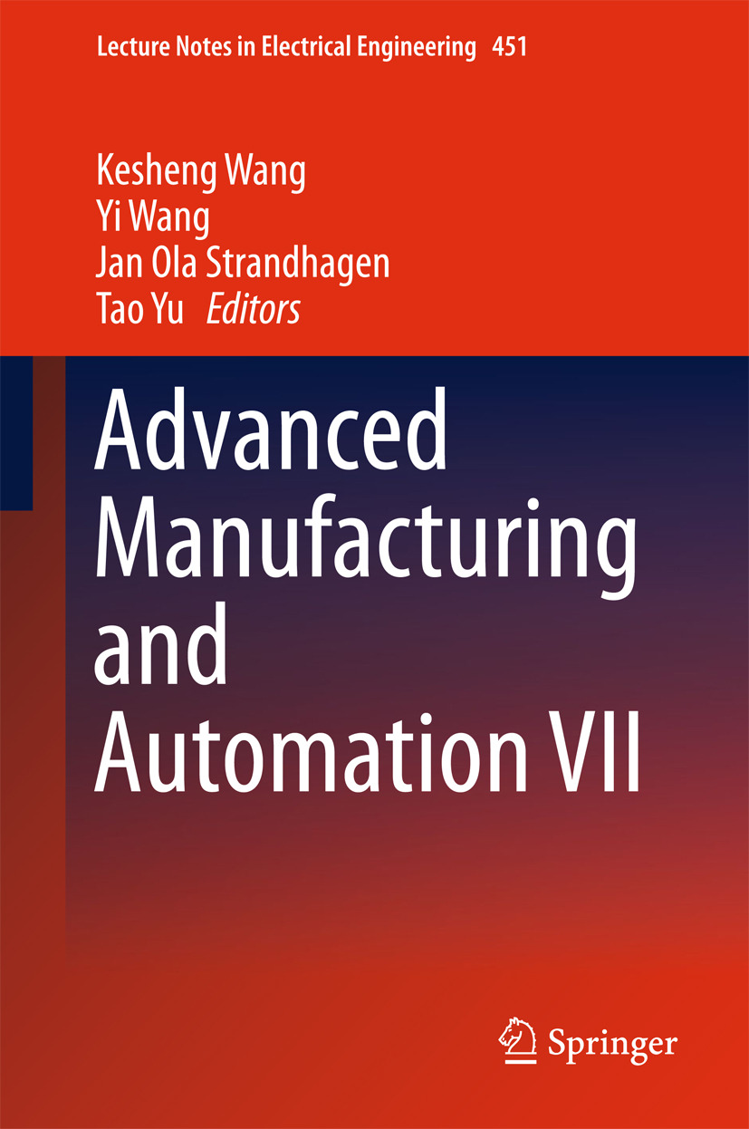 Strandhagen, Jan Ola - Advanced Manufacturing and Automation VII, ebook