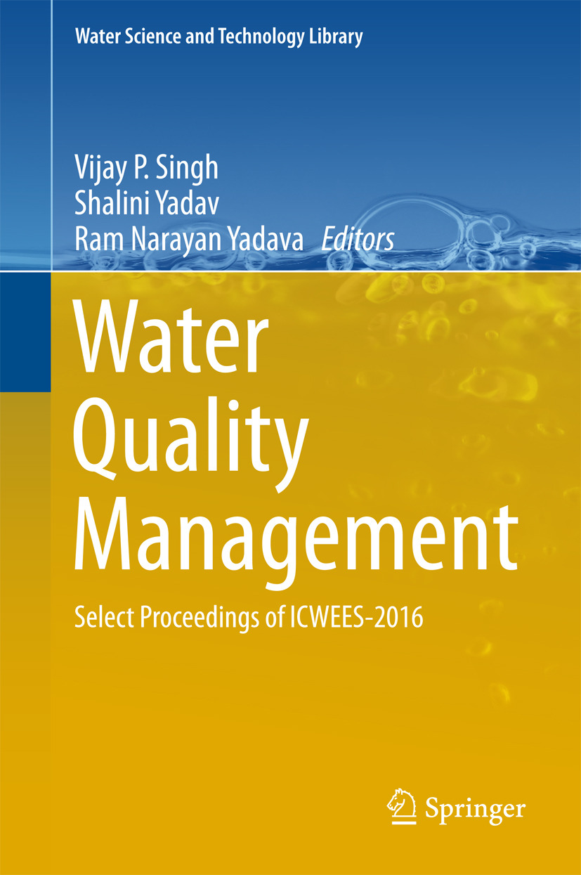 Singh, Vijay P - Water Quality Management, ebook