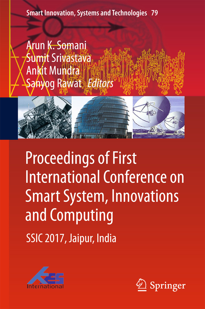 Mundra, Ankit - Proceedings of First International Conference on Smart System, Innovations and Computing, e-bok
