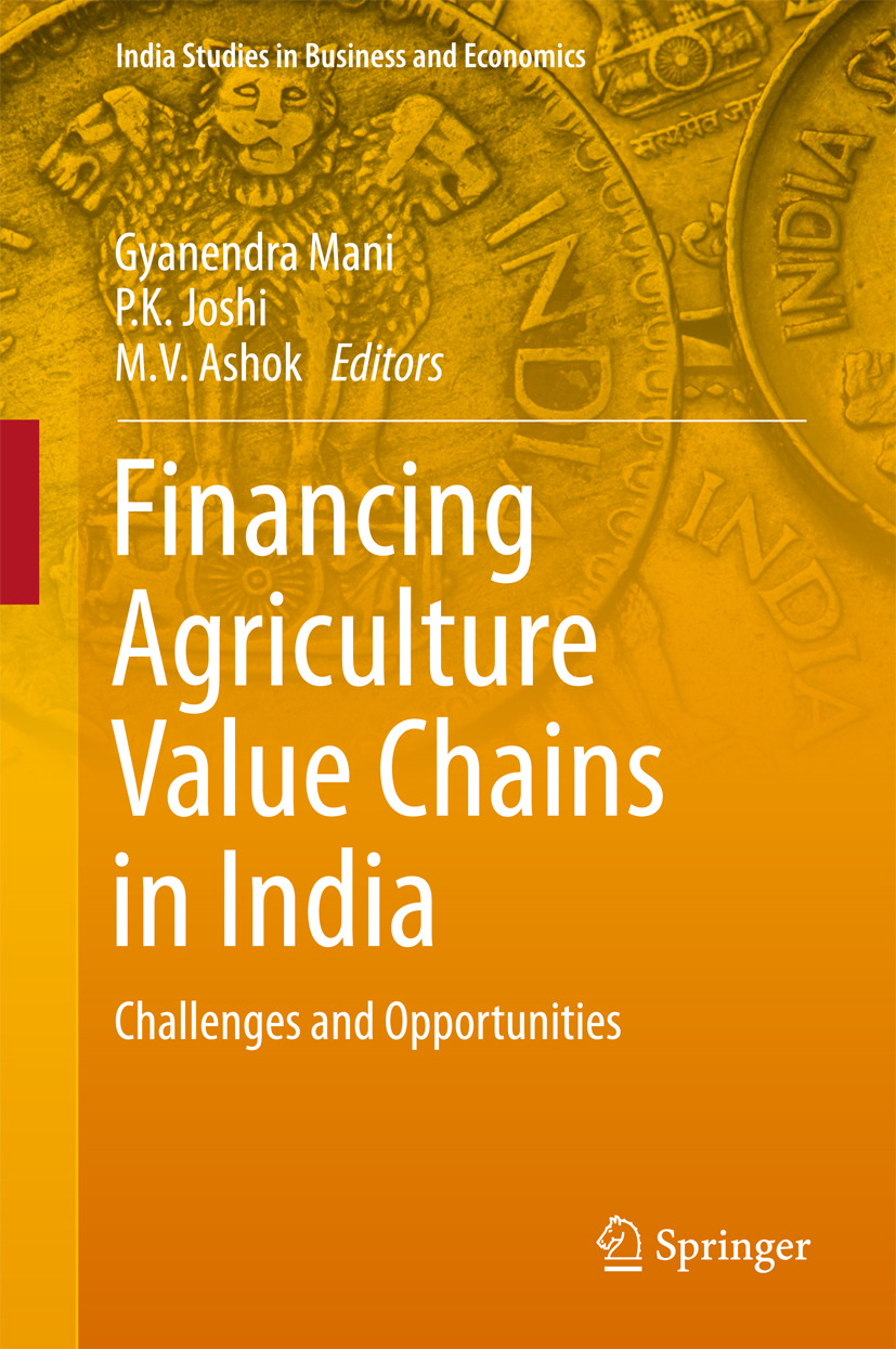 Ashok, M.V. - Financing Agriculture Value Chains in India, ebook