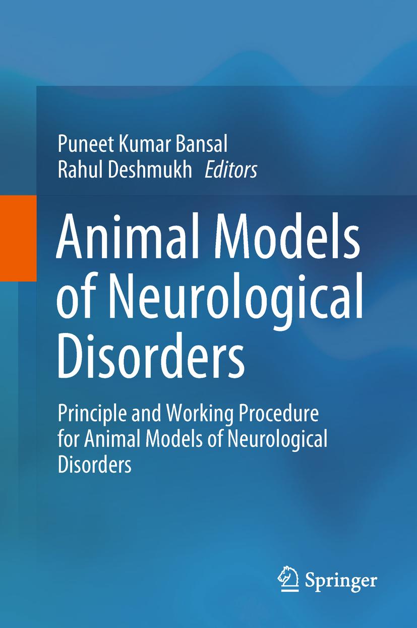 Bansal, Puneet Kumar - Animal Models of Neurological Disorders, ebook