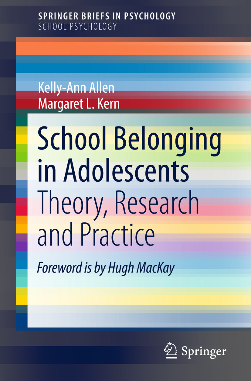 Allen, Kelly-Ann - School Belonging in Adolescents, ebook