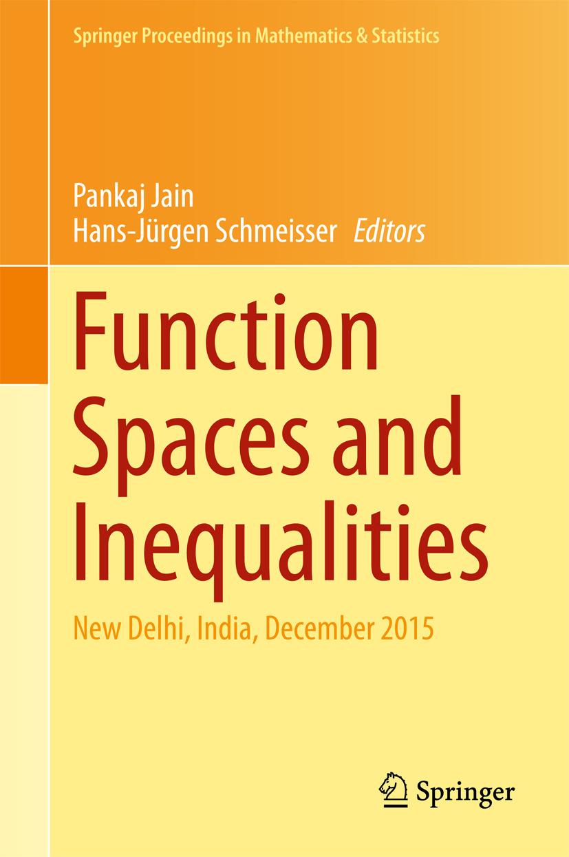 Jain, Pankaj - Function Spaces and Inequalities, ebook