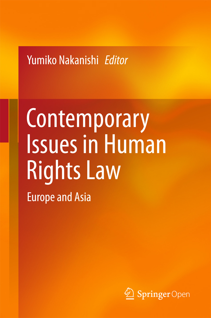 Nakanishi, Yumiko - Contemporary Issues in Human Rights Law, ebook
