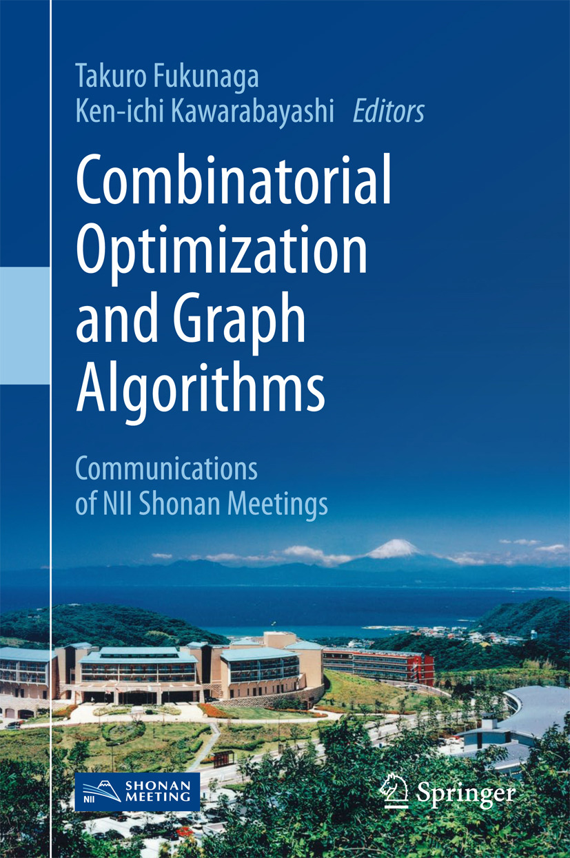 Fukunaga, Takuro - Combinatorial Optimization and Graph Algorithms, ebook