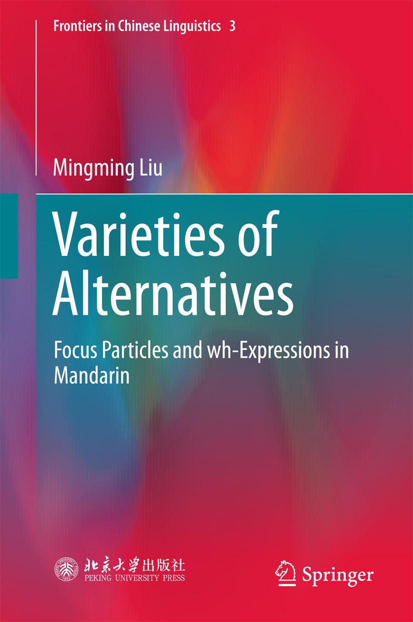 Liu, Mingming - Varieties of Alternatives, ebook