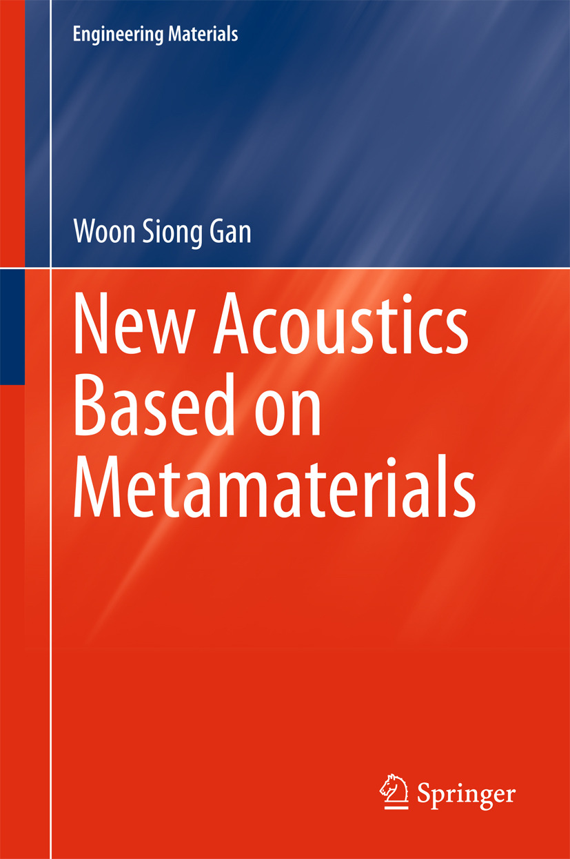Gan, Woon Siong - New Acoustics Based on Metamaterials, e-kirja