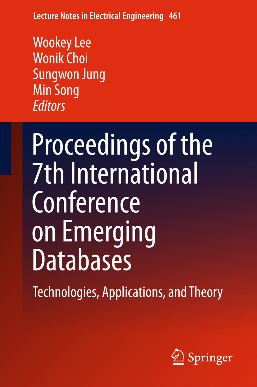 Choi, Wonik - Proceedings of the 7th International Conference on Emerging Databases, ebook