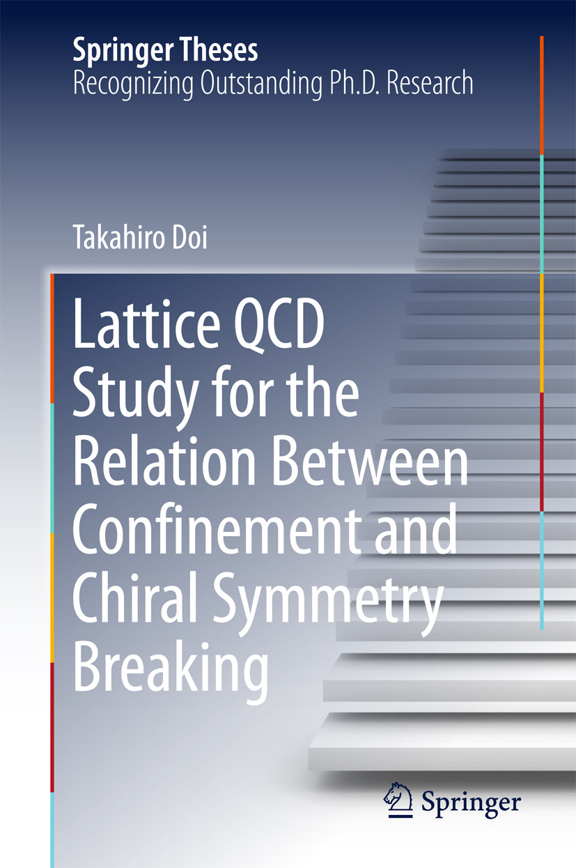 Doi, Takahiro - Lattice QCD Study for the Relation Between Confinement and Chiral Symmetry Breaking, ebook