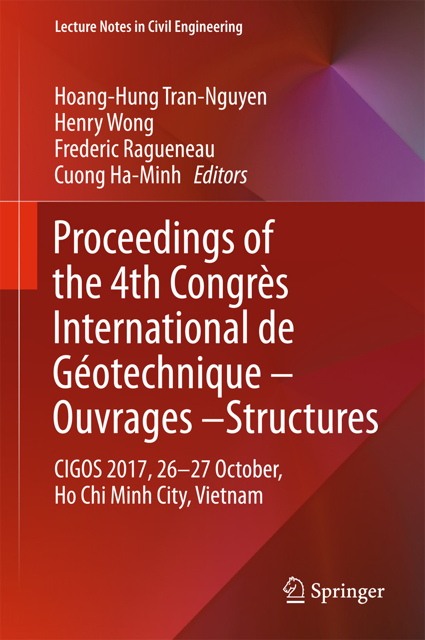 Ha-Minh, Cuong - Proceedings of the 4th Congrès International de Géotechnique - Ouvrages -Structures, ebook