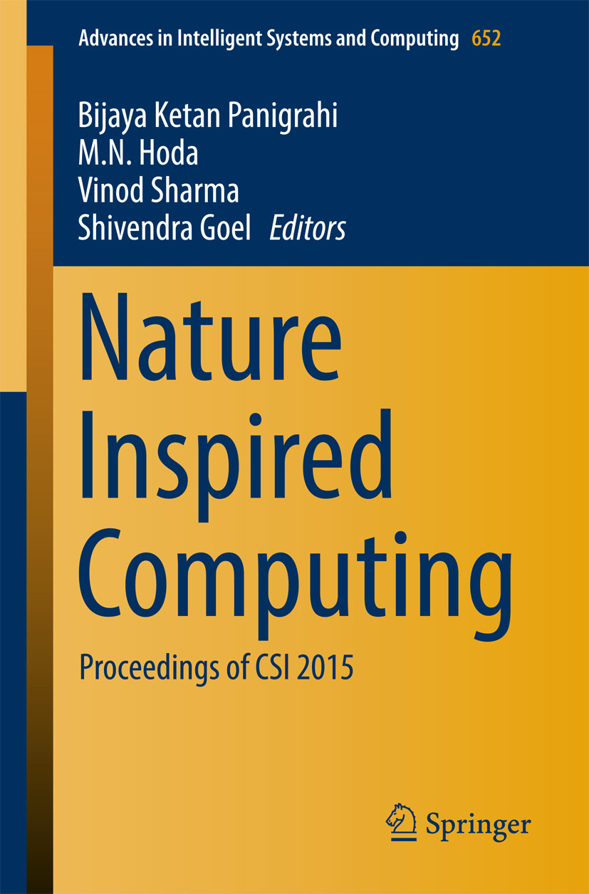 Goel, Shivendra - Nature Inspired Computing, ebook