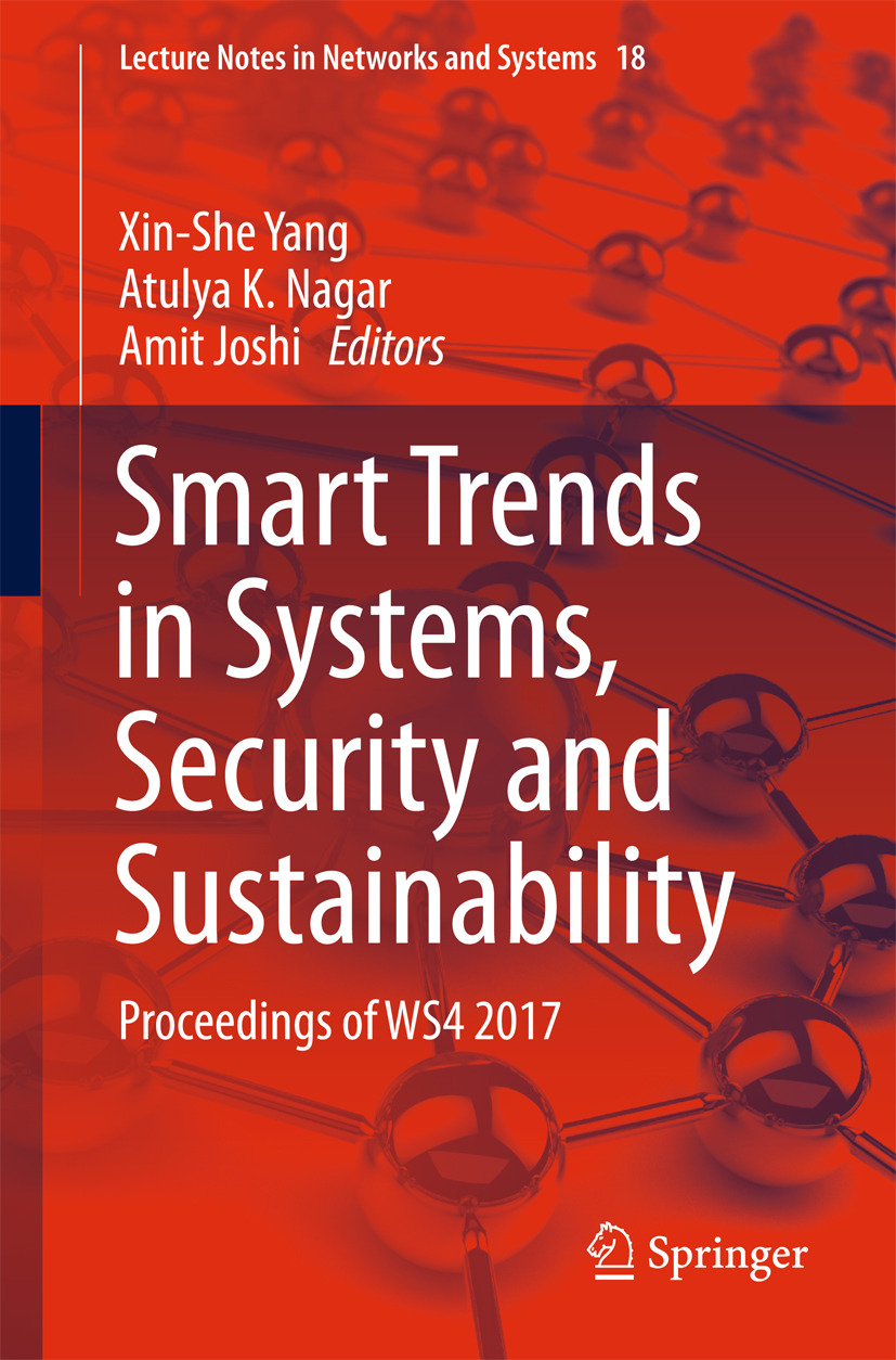 Joshi, Amit - Smart Trends in Systems, Security and Sustainability, ebook