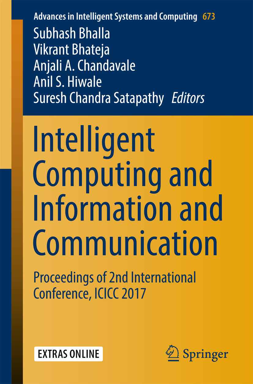 Bhalla, Subhash - Intelligent Computing and Information and Communication, ebook
