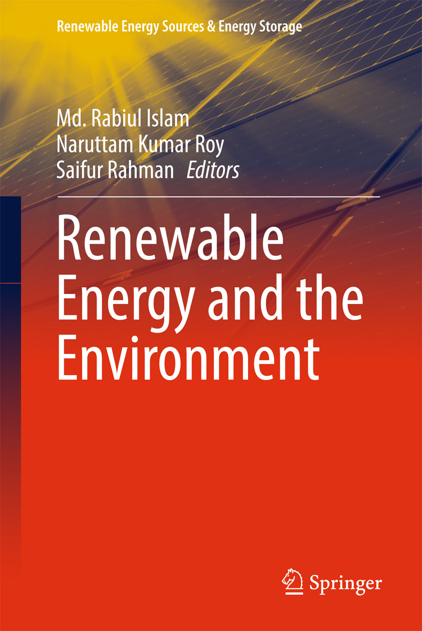 Islam, Md. Rabiul - Renewable Energy and the Environment, ebook