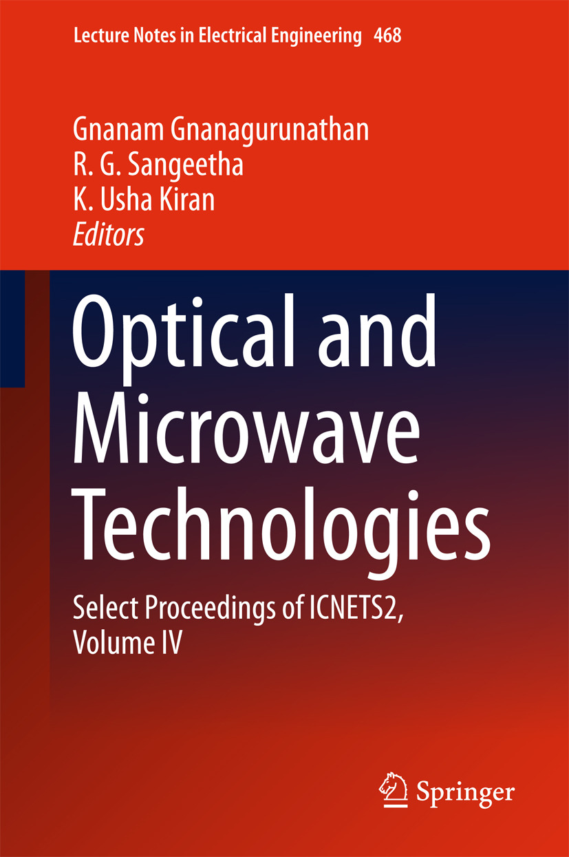 Gnanagurunathan, Gnanam - Optical And Microwave Technologies, ebook