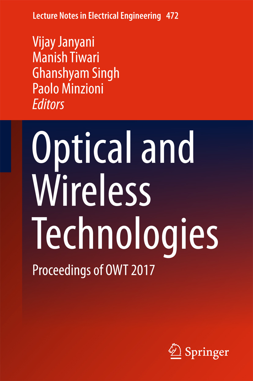 Janyani, Vijay - Optical and Wireless Technologies, ebook