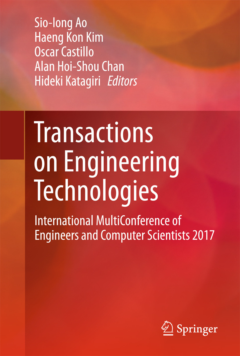 Ao, Sio-Iong - Transactions on Engineering Technologies, ebook