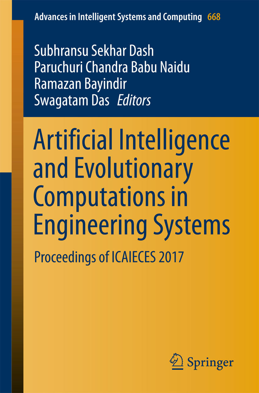 Bayindir, Ramazan - Artificial Intelligence and Evolutionary Computations in Engineering Systems, ebook