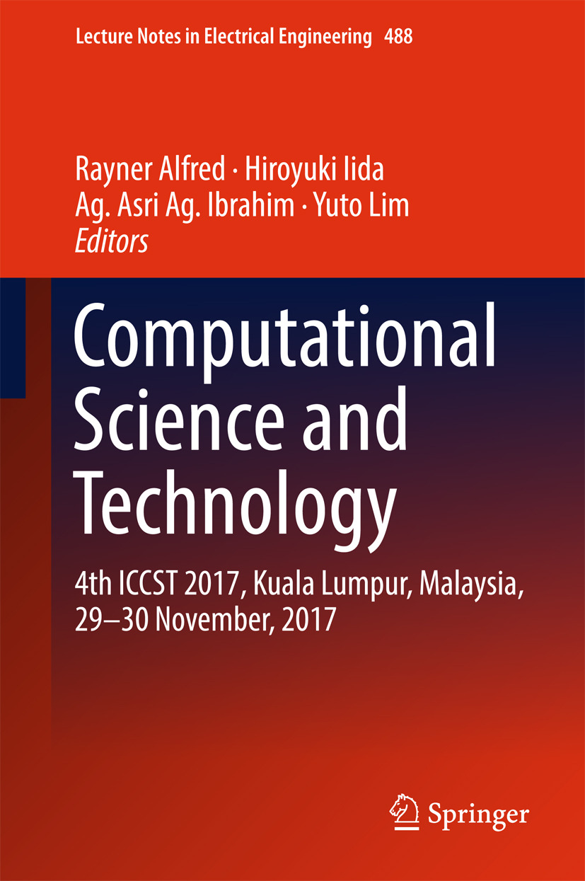 Alfred, Rayner - Computational Science and Technology, ebook